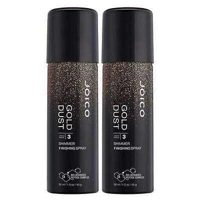 Joico Gold Dust Shimmer Finishing Spray 1.4 oz (Pack of 2)