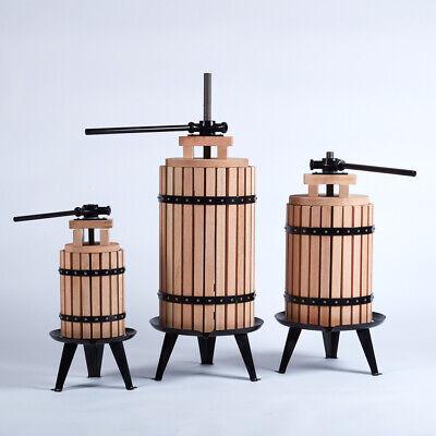 Roble / Acero 12L Fruta Zumo Prensa Wines Sidra - Gratis Semilla...