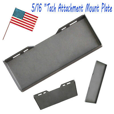 516 Quick Tach Attachment Mount Plate Skidsteer Kubota Bobcat Skid Steer 516mp