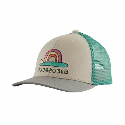 Patagonia Kids Single Fin Sunrise Pumice Trucker Hat