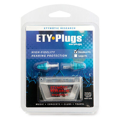 Etymotic ER-20 Ety Earplugs Blue Tip Standard Free US Shipping on Rummage