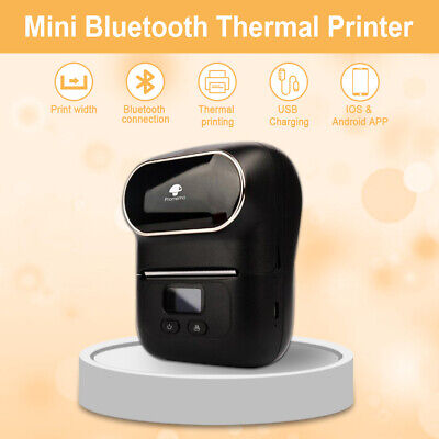 Portable Bluetooth Thermal Phomemo Label Printer M110 For Android Ios System