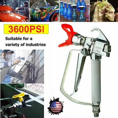 3600 Psi Airless Paint Spray Gun High Pressure Sprayers Spraying Machine Us