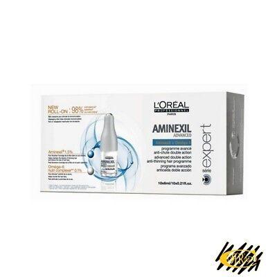 L'Oreal Professional Aminexil Advanced FIALE 10x6ml Programma Anticaduta Capelli