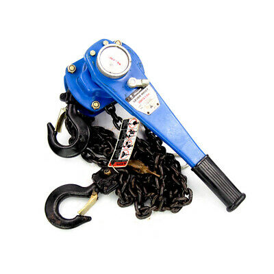 3000 Lb 1.5 Ton Short Handle Ratchet Lever Hoist With 10 Ft. Lift