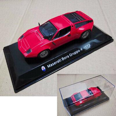 Alloy 1:43 Maserati Bora Group Diecast model Car Kids Toys Xmas Gift Red