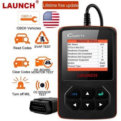 LAUNCH Creader V+ OBD2 Car Code Reader Scanner I/M Readiness Engine Light Check