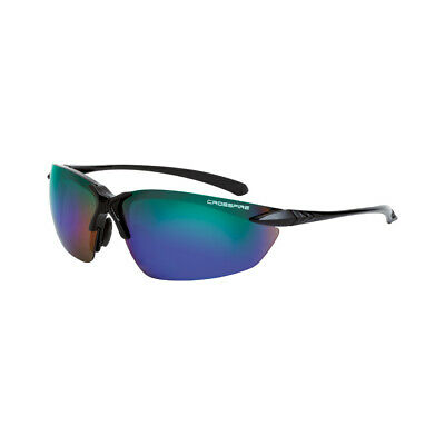 Crossfire Sniper Bluegreen Mirror Safety Glasses Shooting Sunglasses Z87.1