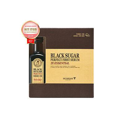SKINFOOD Black Sugar Perfect First Serum 2X essential 120ml Free gifts
