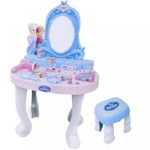 Disney Frozen Tocador Espejo De Set Juguetes Maquillaje