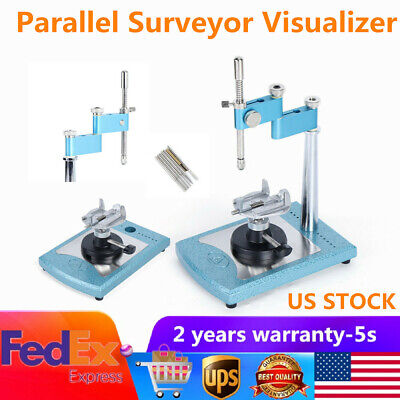 Dental Adjustable Parallel Surveyor Visualizer Spindle Device Lab Equipment Kit