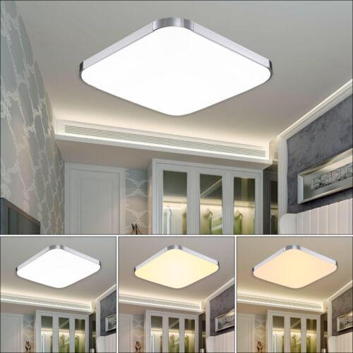 36W LED RGB Ultraslim Deckenleuchte Wohnzimmer Deckenlampe Panel Wandlampe IP44