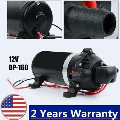 High Pressure Diaphragm Self Priming Water Pump 24v Dc 126w 160psi For Water Rv