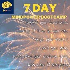 FREE 7 day Mindpower Bootcamp