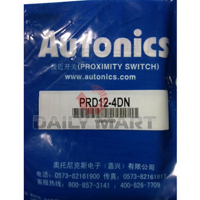Autonics Prd12-4dn Long Distance Cylindrical Inductive Proximity Sensor Switch