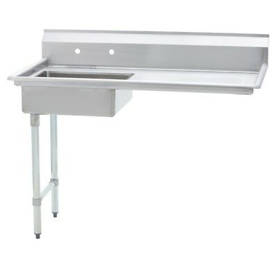 Stainless Steel Commercial Undercounter Dish Table Left Side  30 X 52 G