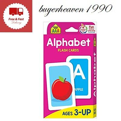 Kids Flash Cards For Alphabet Toddlers Early Learning Educational First Word Abc