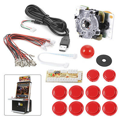 Zero Delay Arcade Game Controller USB Joystick for MAME Raspberry Pi 1/2/3 AC488