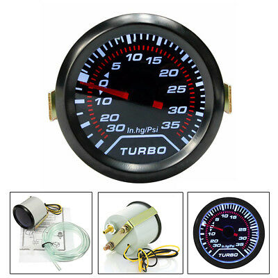 Universal Car DC 12V 52mm Bar Led Light Pressure Turbo Boost Gauge Meter Lu01