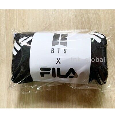 """BTS X FILA BLANKET Limited Official Goods """"Rare"""" + Free Tracking Number"""