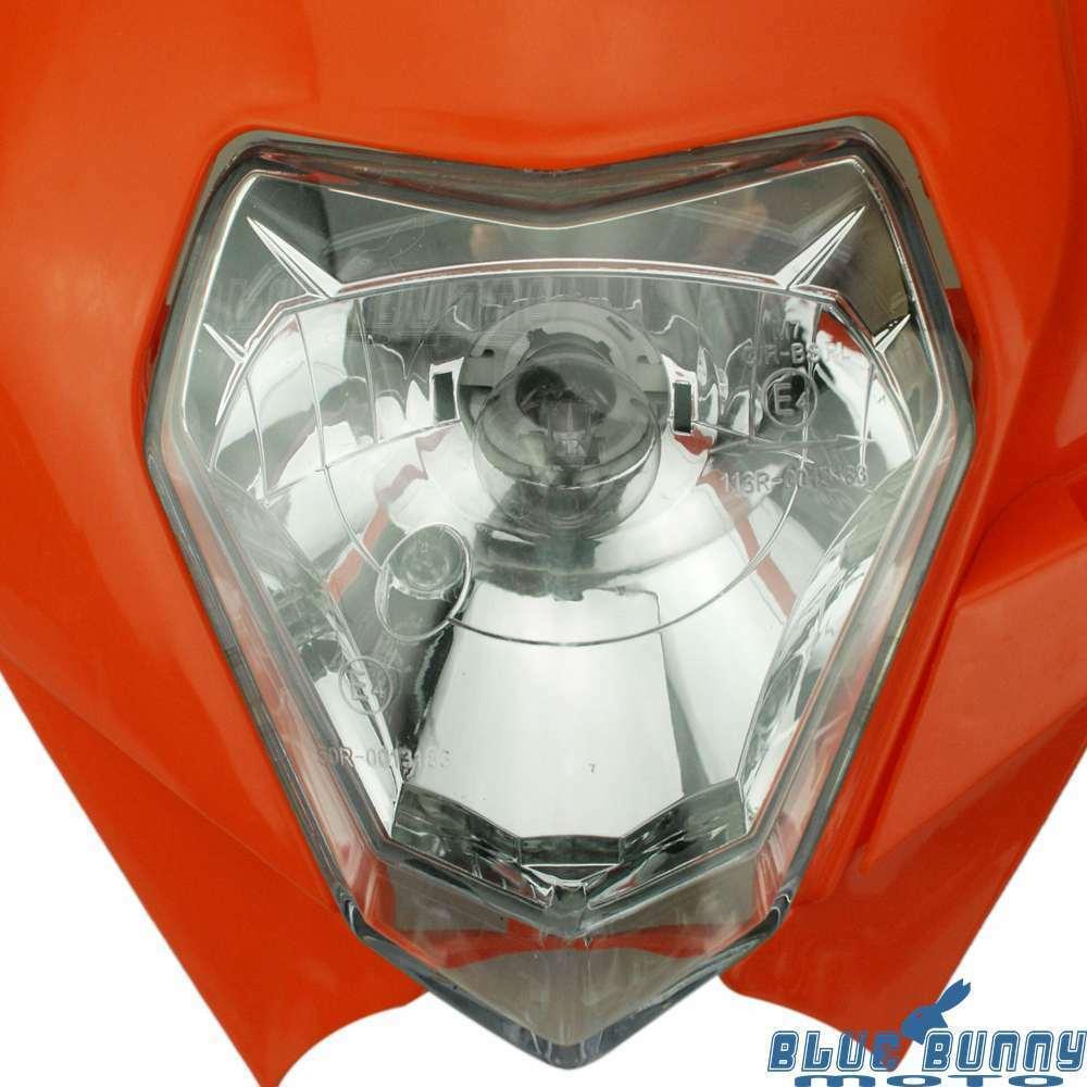 For 450 SX-F 250 SX 200 EXC XC-W Motocross Dirt Bike Headlight Lamp Fairing | eBay