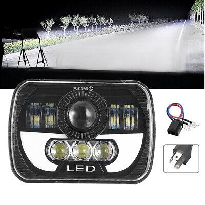 """H6054 7x6"""" LED Headlight Hi/Lo Beam DRL Fits Express Savana 1500 2500 3500"""
