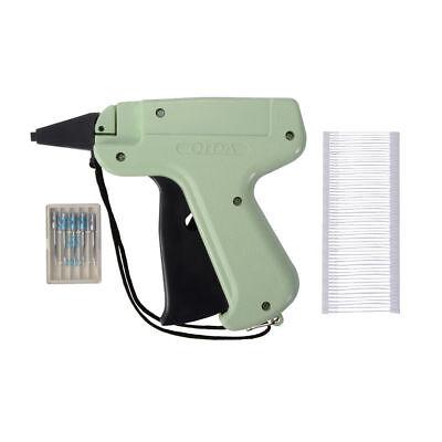 Heftpistole Etikettierpistole +1000 Heftfäden + 6 Nadeln Set für Kunststofffäden