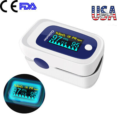 Oled Finger Pulse Oximeter 4 Parameter Spo2 Pr Pi Odi Heart Rate Monitor Fdace