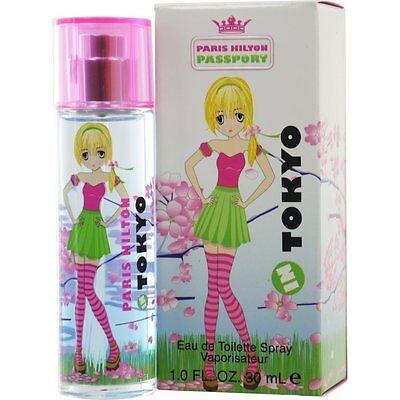 Passport In Tokyo Paris Hilton Women 1 oz / 30 ml EDT Perfume Spray | NEW IN BOX