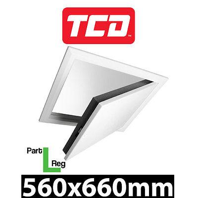 Timloc 1169/35 Loft Hatch 560x660 Attic Hatch Drop Down Part L Extra Insulation