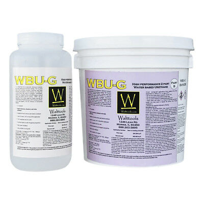 Wbu G Concrete Coating Water-based Urethane Glossy - 3 Qt Kit