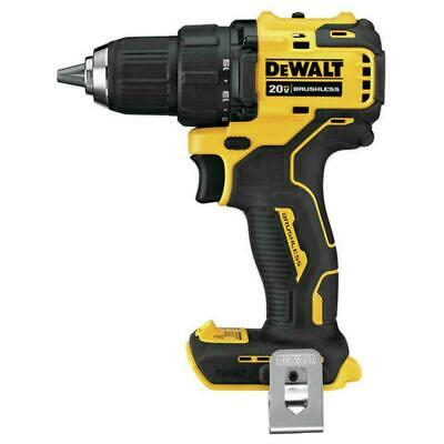 "NEW DEWALT DCD708 ATOMIC 20V Max Li-Ion 1/2"" Brushless Drill Driver (Tool Only) - Li Ion Drill Driver"
