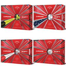 New Callaway Chrome Soft Golf Balls - 6 DOZEN - Pick Your Color - TRUVIS