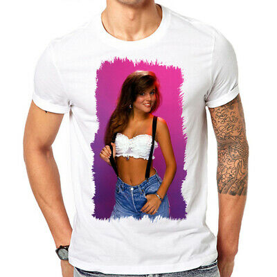 Kelly Kapowski Shirt Saved by the Bell Tiffani Amber Thiessen Retro 80s - Kelly Saved By The Bell