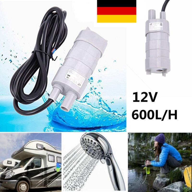 Mini DC Tauchpumpe 12V 10L//M Pumpe Wasserpumpe KFZ Wohnwagen Camping Garten NEU