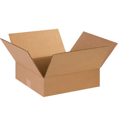 25 - 14 X 14 X 4 Cardboard Shipping Boxes Flat Corrugated Cartons