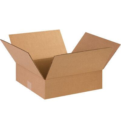 25 - 14 X 14 X 4 Cardboard Shipping Boxes Flat Corrugated Cartons