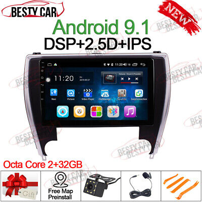 """10.1"""" Android Car Radio GPS Stereo For Toyota Camry 2015~2017 USA Version DSP BT"""