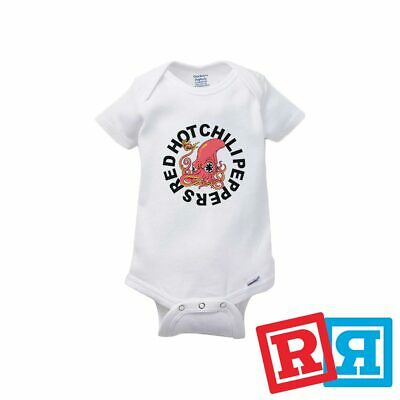 Red Hot Chili Peppers Baby Onesie (Red Hot Chili Peppers Octopus Baby Onesie Bodysuit Unisex Gerber Organic)