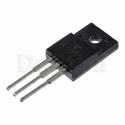 2sk1033 Original Panasonic Power Fet 20a 60v .07ohm Npn To-220ab