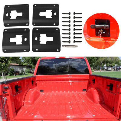 4x Truck Bed Box Link Cargo Tie Down Bracket For 2015-2019 Ford F150 F250 F350