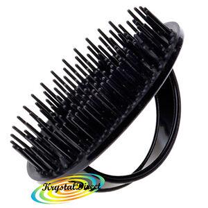 Denman D6 Be Bop Hair Brush Gentle Shampoo/Scalp Massage
