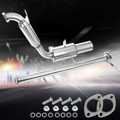 For Miata MX5 1989-1993 1.6L Stainless Steel Axle Back Exhaust Midpipe Muffler