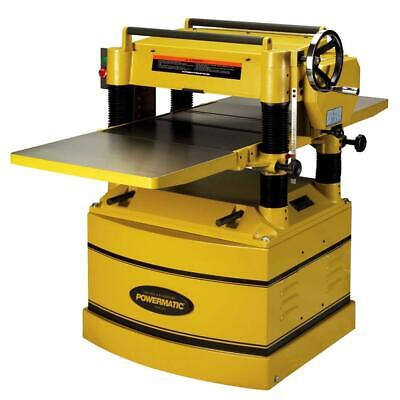 Powermatic 209hh-3 5-hp 230460v 20 Heavy Duty Planer W Helical Cutterhead