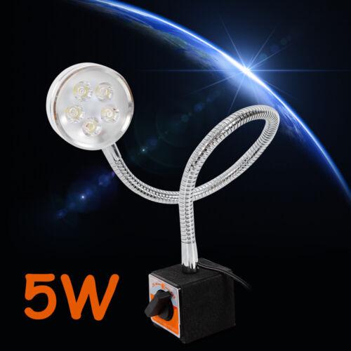 6000K 5W LED Work Light COB CNC Lathe Milling Machine Waterp