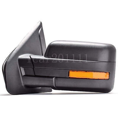 Non Puddle Light - For 07-14 F150 LH Non-Tow Mirrors Power Heated w/Turn Signal Puddle Light