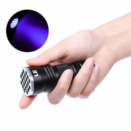 Купить 21 LED Pet UV Urine & Stain Detector Ultra Violet Flashlight Blacklight Torch