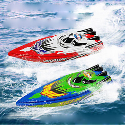 AU High Speed Racing Boat Remote Control Electric Airship Toys Gifts