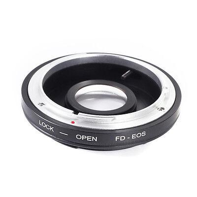 Canon FD Objektiv - Canon EOS Adapter Glaslinse unendliche Fokussierung mit Glas Canon Fd Eos
