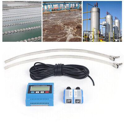 Tuf-2000m Digital Ultrasonic Water Flowmeter Flow Heat Meter 4-20ma Wts2 Sensor
